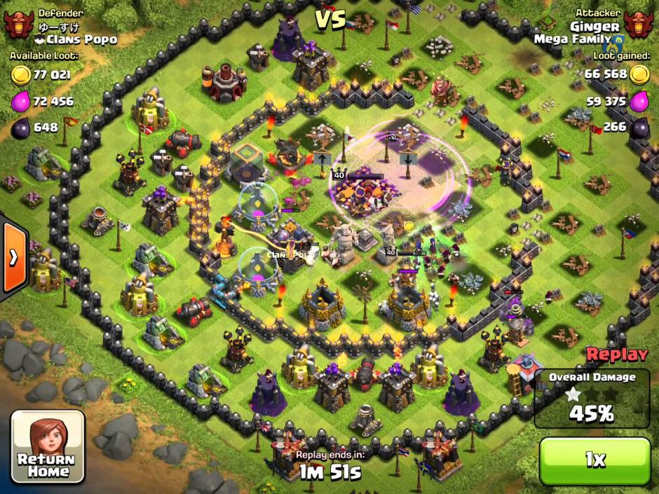 Clash Of Clans New Update Build House